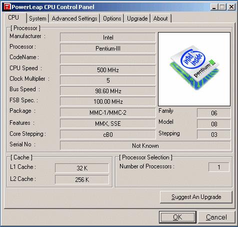 Upgrading IBM ThinkPad 600E
